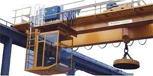 мостовой магнитный кран