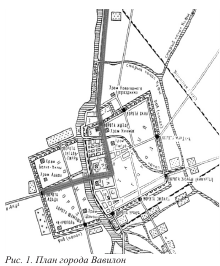 план города Вавилон