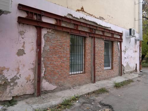 реальний приклад підсилення стіни