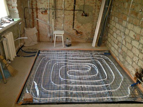 тепла підлога