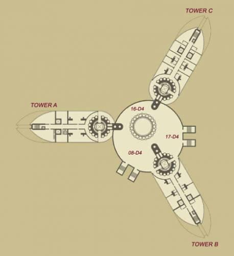 Palais Lumiere by Pierre Cardin plan 341
