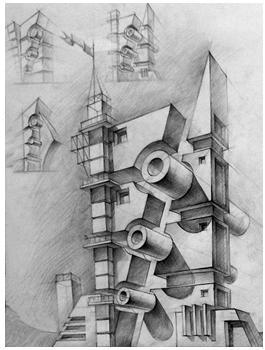 малюнок до статті про архітектурний образ
