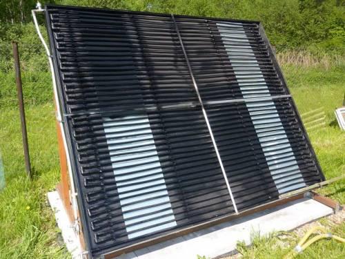 Сонячний колектор з металопластикових труб