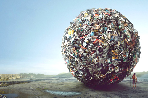 мусор - наше зло