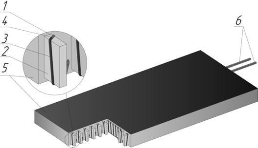 Конструкция преобразователя теплового потока