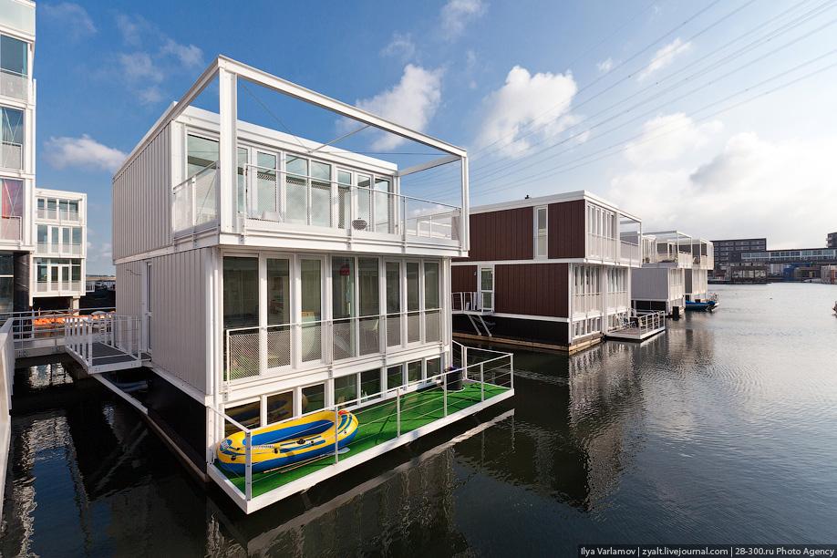 тема домов на воде